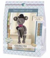 Go Handmade Crochet Kit Gentleman Elliot Mouse